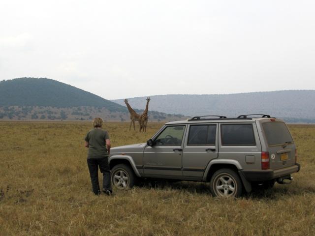 Auf Safari, oder wofür wir den Off-Roader brauchen