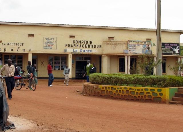 Im Zentrum von Byumba