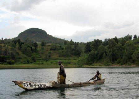 Fischer am Kivusee