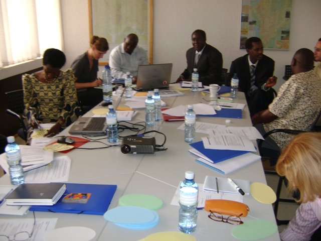 Jahresplanung für 2009 mit den Projektpartnern im KoBü Kigali