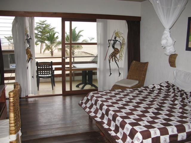 Zimmer Nr. 104 im Hotel Club du Lac Tanganyka in Bujumbura. So schön kann Afrika sein!