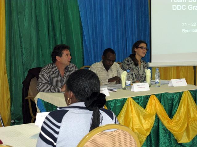 Schon wieder ein Workshop, diesmal in Byumba