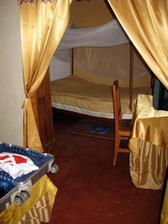 Prächtiges Zimmer im Hotel Kigobe in Ngozi